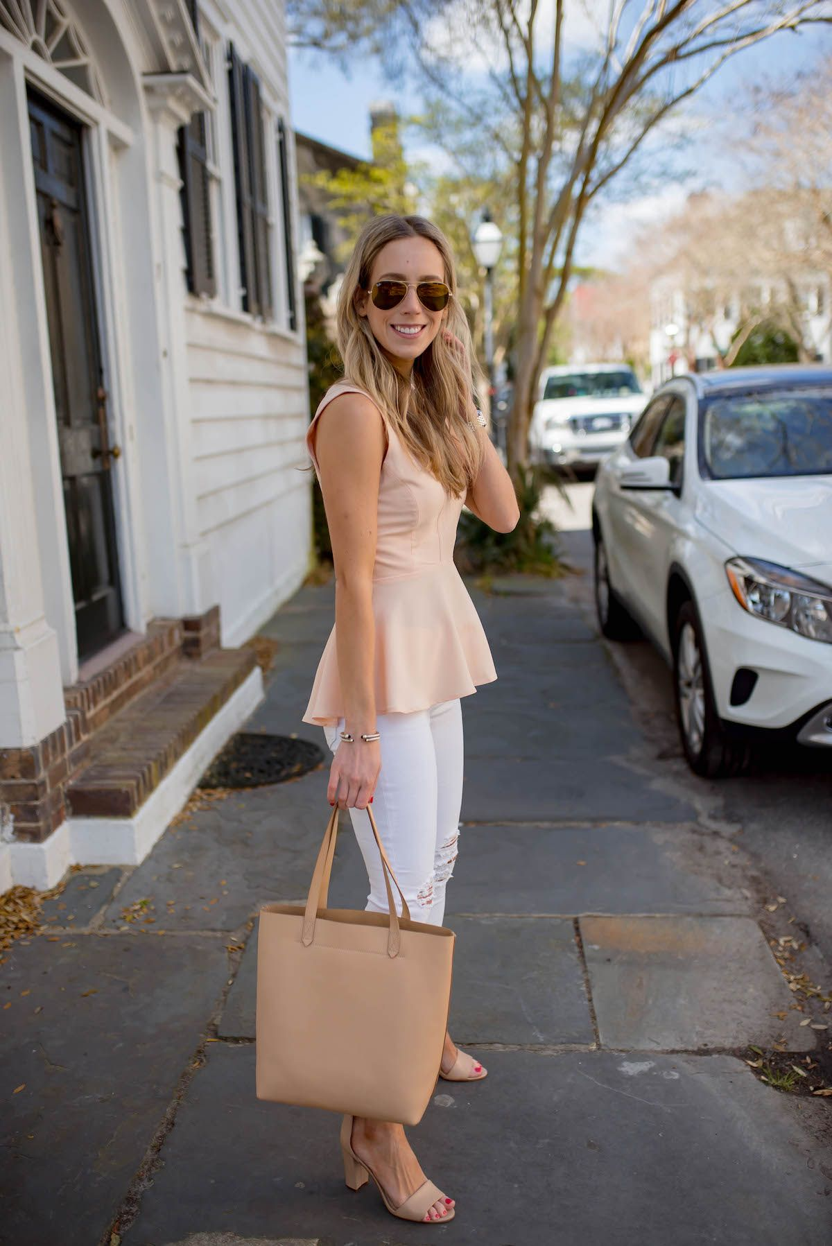 Bag Review Madewell Medium Transport Tote Fashion In