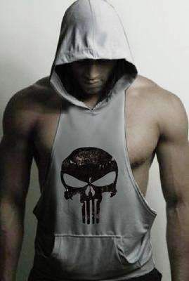Fitness cotton bodybuilding tank tops gyms vest tank tops fit muscle men top