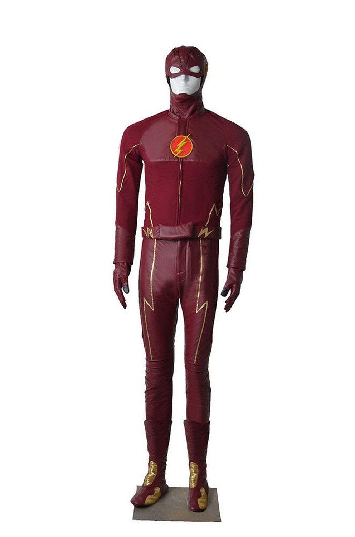 Amazon.com: MZX Men's DC Superhero the Flash Cosplay Costume Flash ...