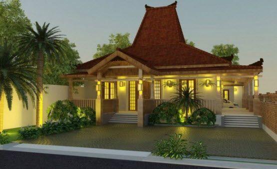 Desain Rumah Adat Jawa Sunda Bali Betawi Minang Home Is Things