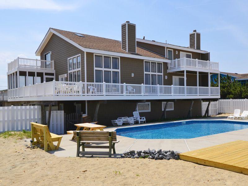 Virginia 39 S Dream Is A Oceanfront Sandbridge Rental With 7 Bedrooms And 5 Bathroo Virginia Beach House Rentals Beach Houses For Rent Virginia Beach Houses