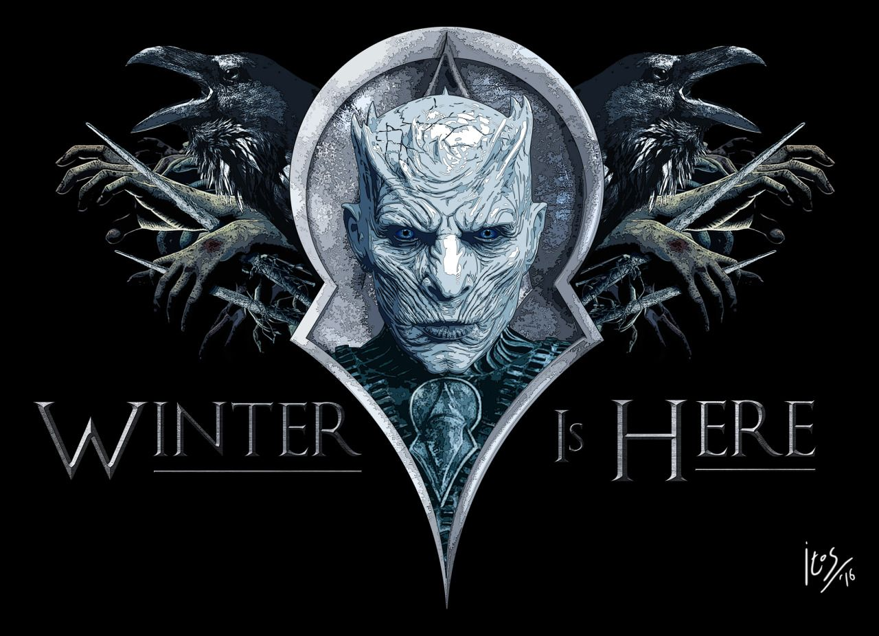 ac93819ea7 Winter is Here: Terrific The Night's King Poster Art by Carlos Giraldo  Orozco Like us on Facebook