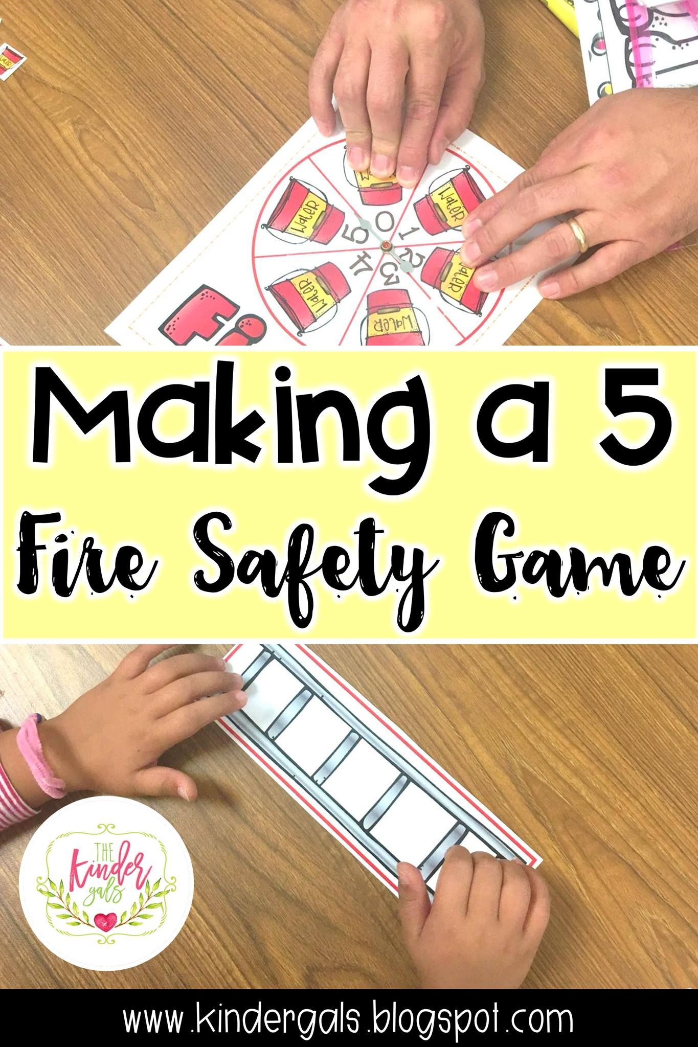 Fire Fighters Literacy and Math Activities by Kim Adsit