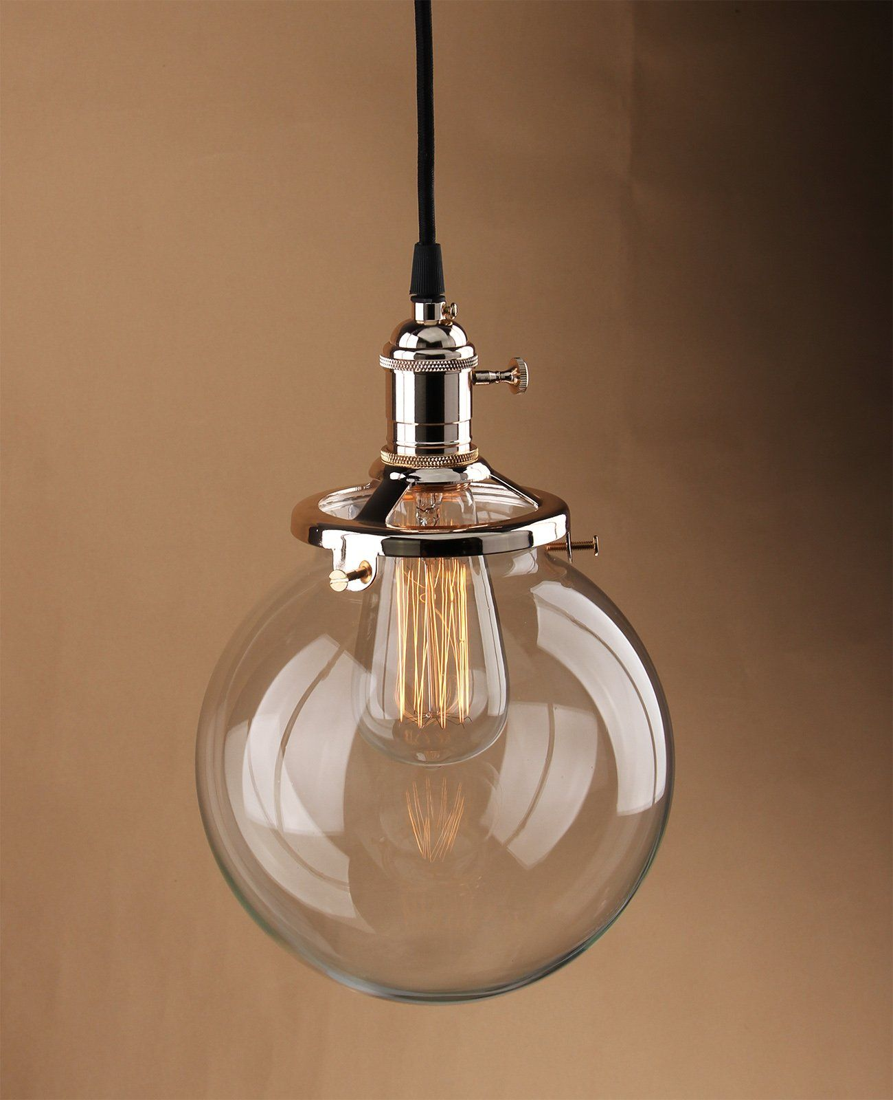 Retro Kitchen Lighting Buyeear Modern Industrial Metal Glass Loft Pendant Lamp Retro