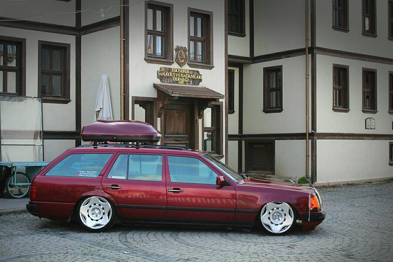 Mercedes Benz W124 Estate On Carlsson Wheels With Images
