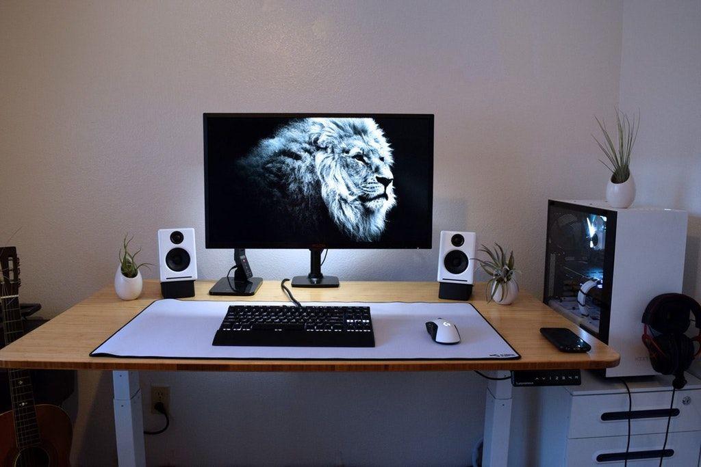 Man Cave Computer Room : My happy place battlestations desk setups man cave