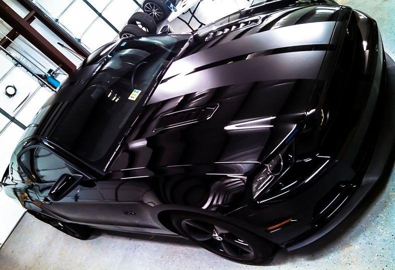 Pin By Hughblue On Mustang Black Mustang Dream Cars Car Wrap