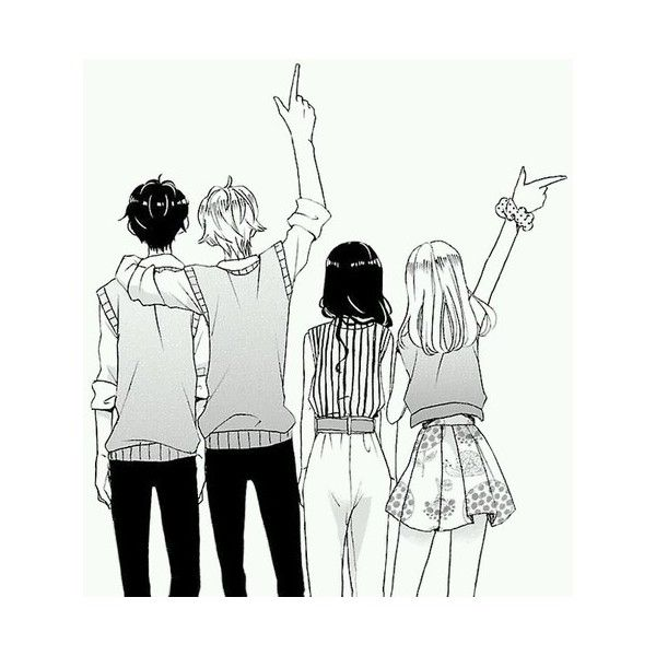 Untitled We Heart It Liked On Polyvore Featuring Anime Friend