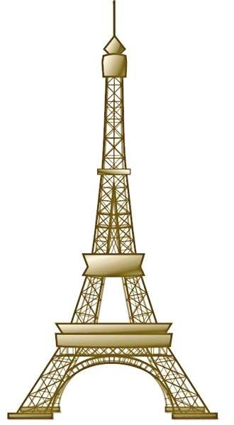 eiffel tower clip art craft projects building clipart clipartoons rh pinterest ie eiffel tower clipart transparent eiffel tower clip art free