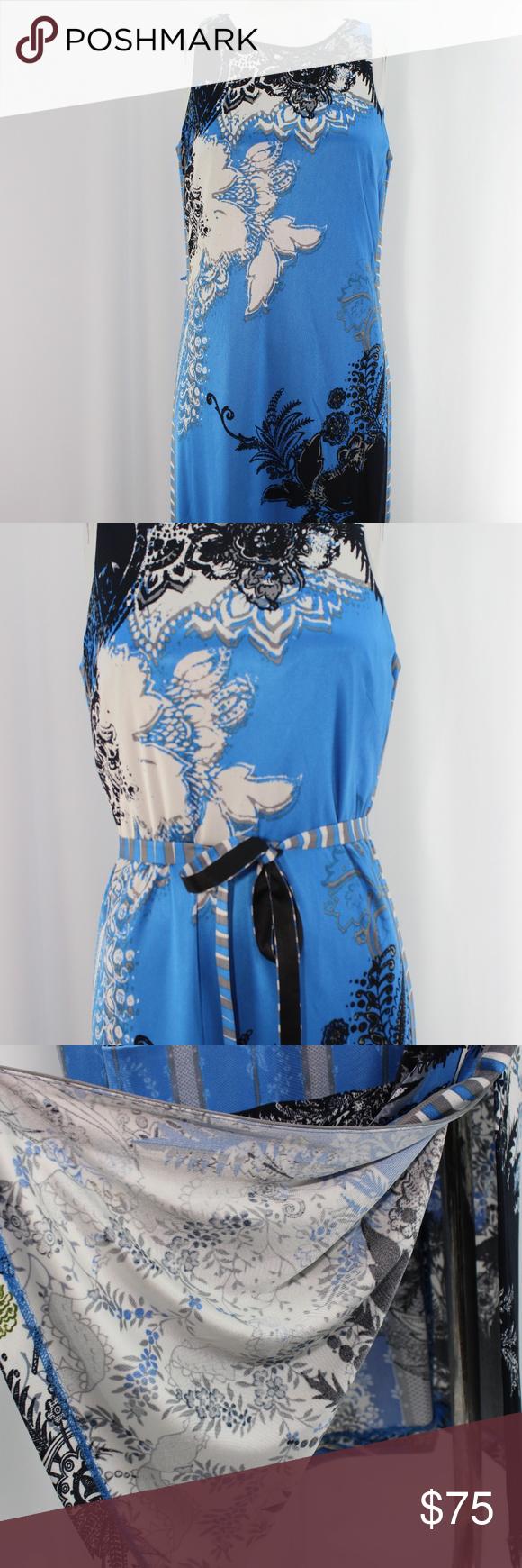 Elie Tahari Maxi Dress Elie Tahari Dresses Maxi Dress Clothes Design [ 1740 x 580 Pixel ]