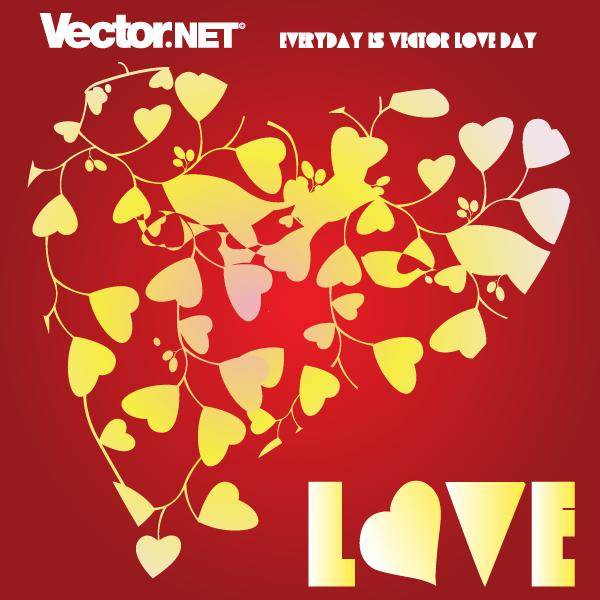 Free Love Heart Vector Shirts Pinterest Love Heart Heart And