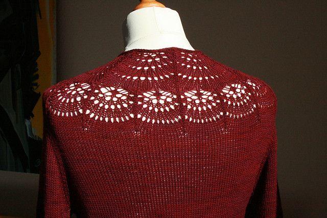 Camber Cardigan外倾角开衫 - 编织幸福 - 编织幸福的博客