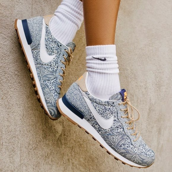 Nike x Liberty London Sneakers SO chic and perfect for