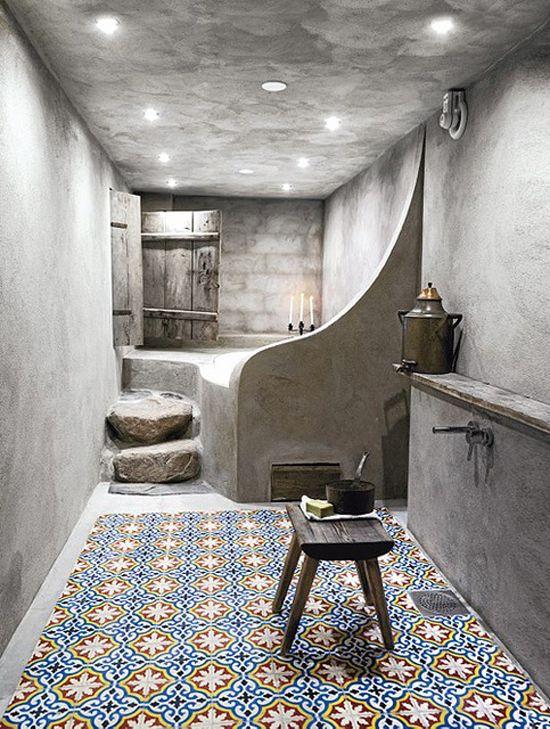 Je badkamer in echte hammam stijl | Wooninspiratie | Badkamer ...