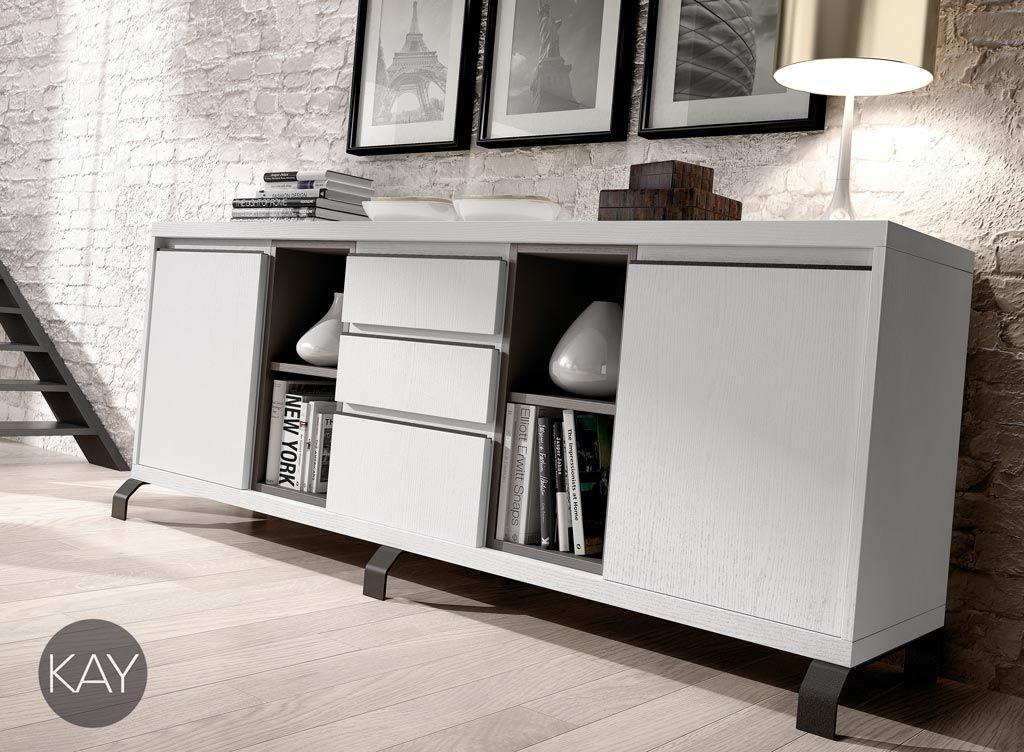 Dentro de la colección de mobiliario de salón comedor Kay se ofrece ...