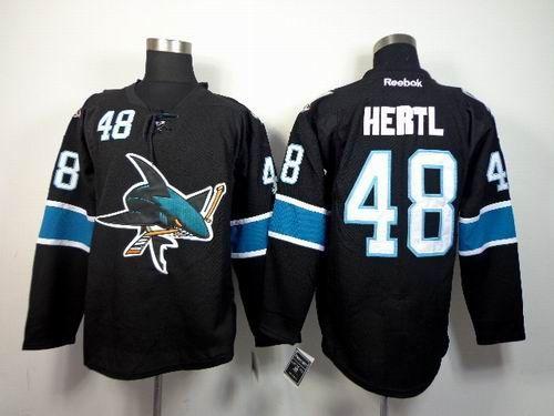promo code f4e81 89c79 San Jose Sharks #48 Tomas Hertl Black Jersey | NHL San Jose ...