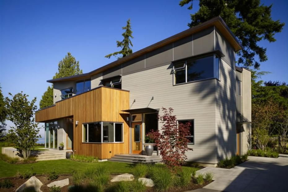 Contemporary Home Design In The Pacific Northwest, By