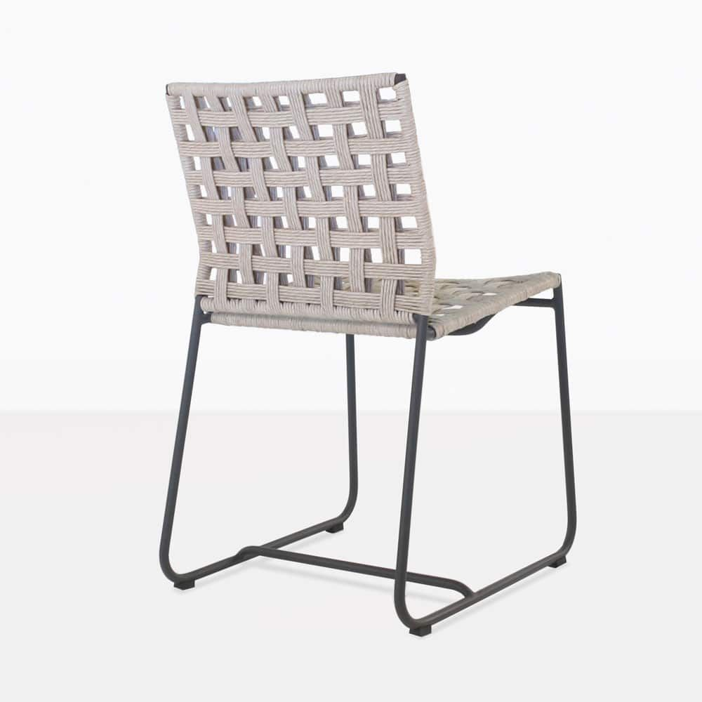 Mayo Dining Chair Angle Outdoor Dining Chairs Outdoor Wicker