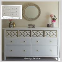 O Verlays Are Lightweight Decorative Fretwork Panels That Come In Several Patterns And White Gold Dresserikea
