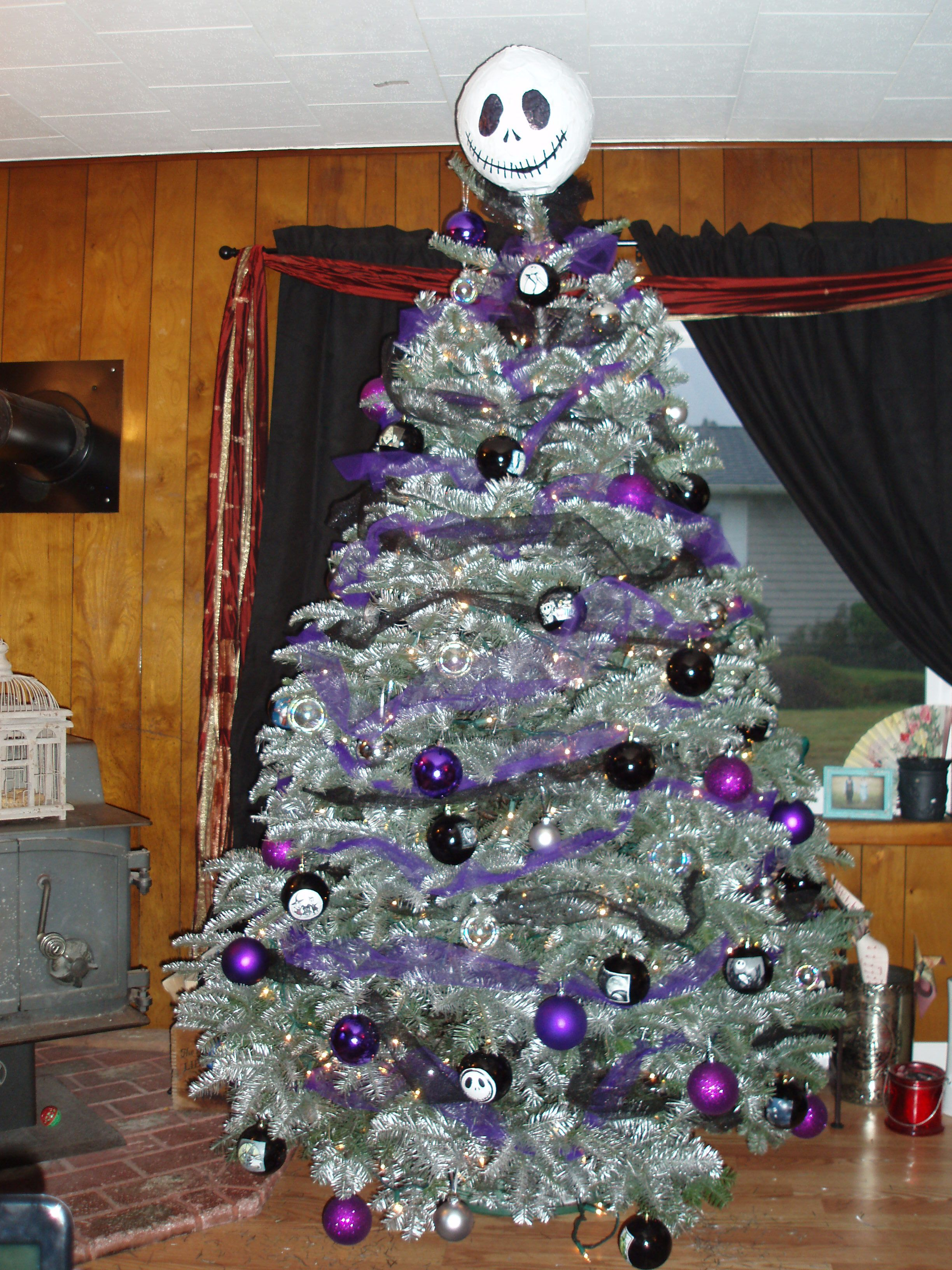 Marvelous Christmas Tree With Tulle Garland Part - 8: Pinterest