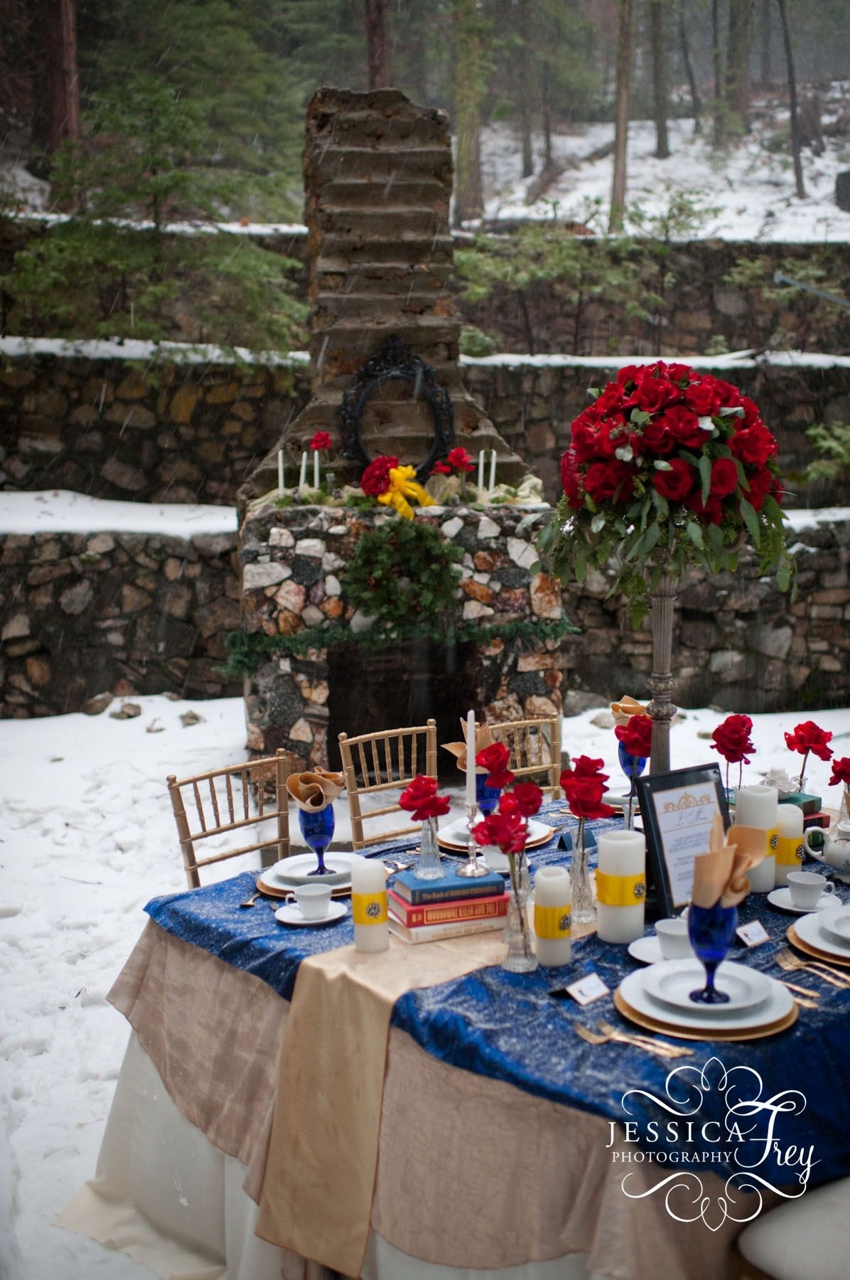 winter wonderland wedding table ideas%0A Beauty and the Beast Weddings lifestoughimtougher   u   c saltlakecitybride   u   c  Wedding Gowns Custom Couture Bridal For the bride who wants to be JUST LIKE  Belle