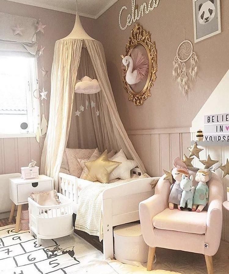 Photo of Nursery Ideas Fit For a Swan Princess