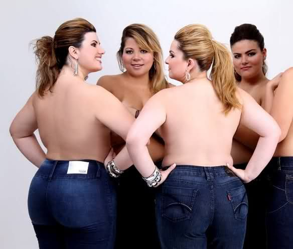 naked plus size modles