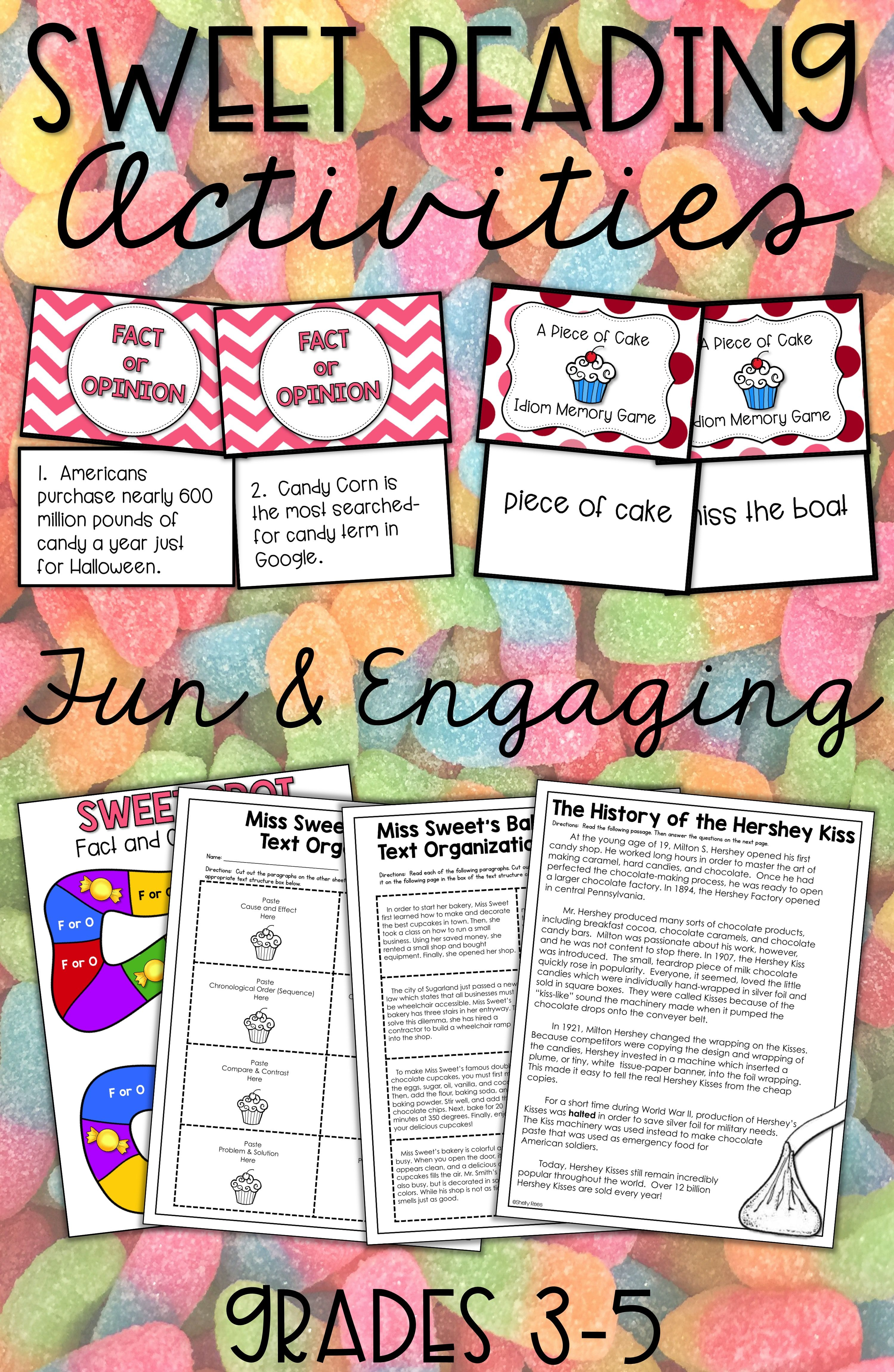 Valentine S Day Reading Activities For 3rd Grade 4th Grade And 5th Grade Are Fun For Students With These Printa Reading Unit Reading Passages Writing Lessons Fun reading lesson plans for grade