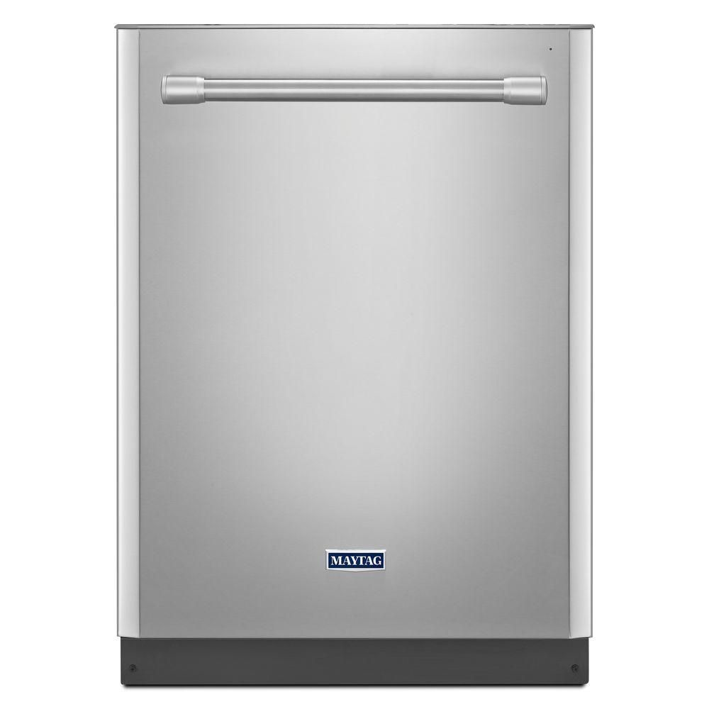 Maytag Top Control Dishwasher In Monochromatic Stainless Steel