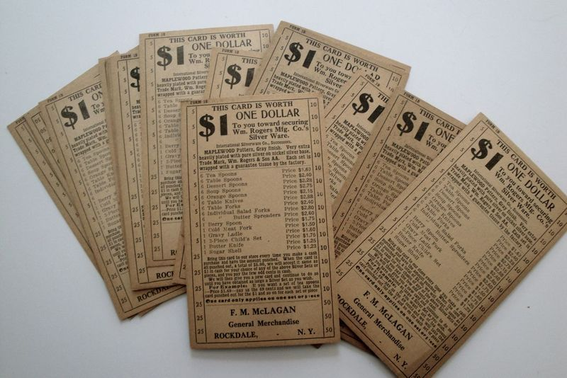 Old coupons I think. But very cool.