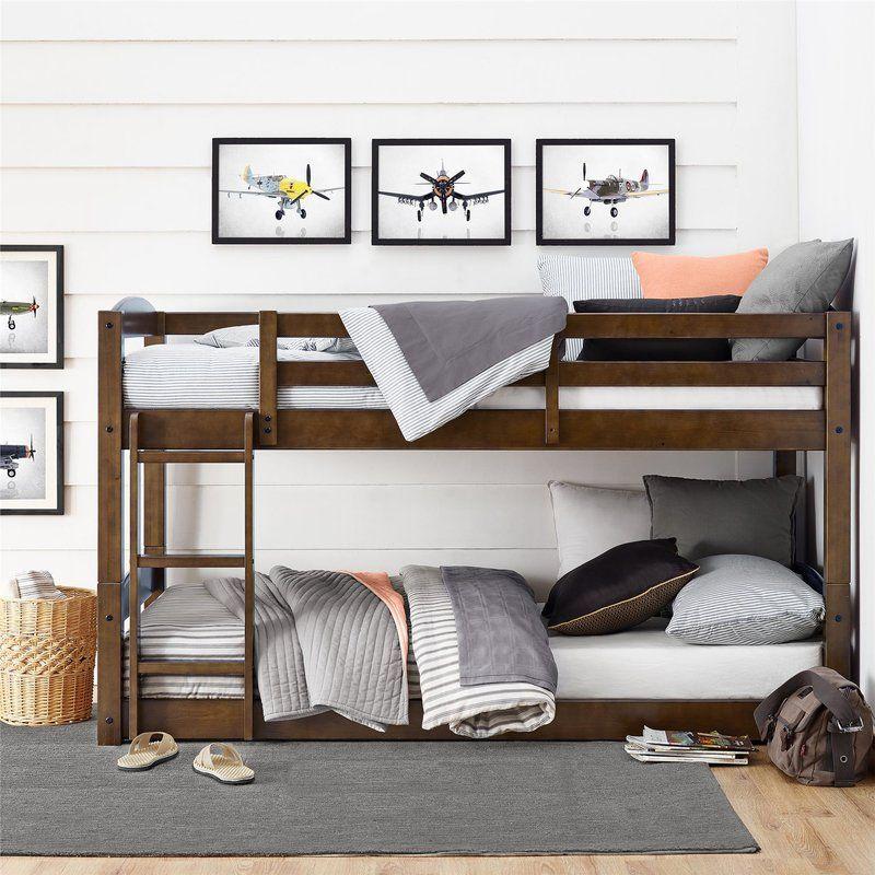 Better Homes & Gardens Sullivan Twin Over Twin Bunk Bed