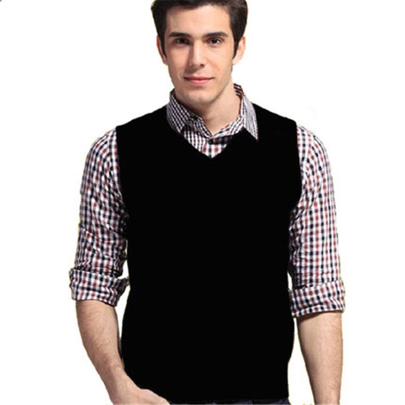 2017 New Fashion Sleeveless Men's Pullovers For Fall/Winter ...