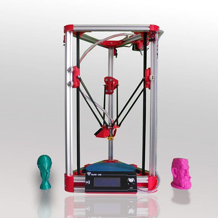 Impressora He3d A140 3d Printer Diy Kit Delta 3d Printer Prusa