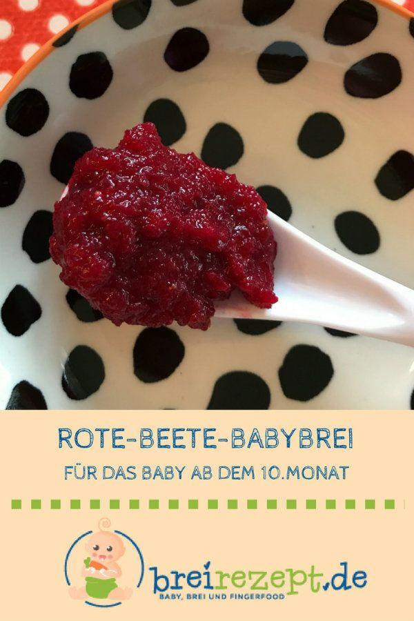 Rote Beete Für Baby