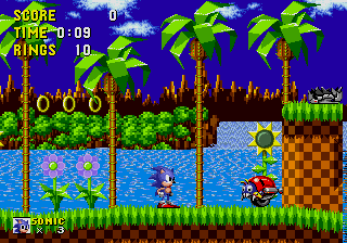Sonic The Hedgehog 1991 Video Game Sega Mega Drive Came With The Bundle But I Was Not A Fan Sega Games Platform Game Sega Mega Drive