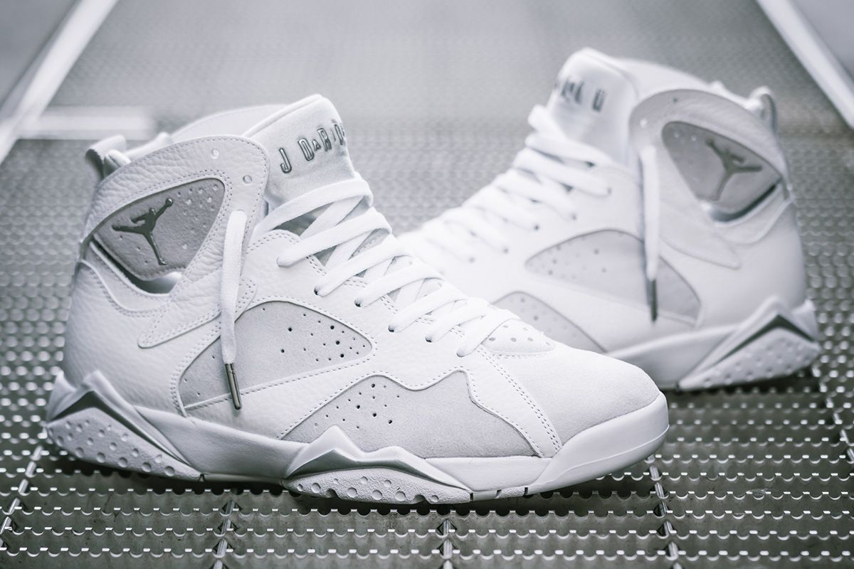 Air Jordan 7 Retro 'pure Money' Detailed Pictures & Release  Eu Kicks