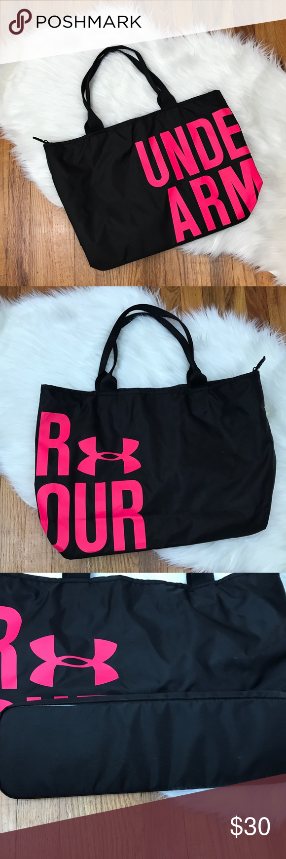 b6459f8e5b84 Under Armour Tote Bag Gently preloved - used 2-3 times. Minor signs of  wear