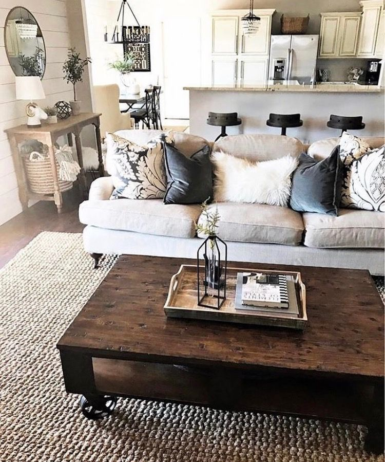 pinterest || ☓ sinetimores | Modern farmhouse living room ...