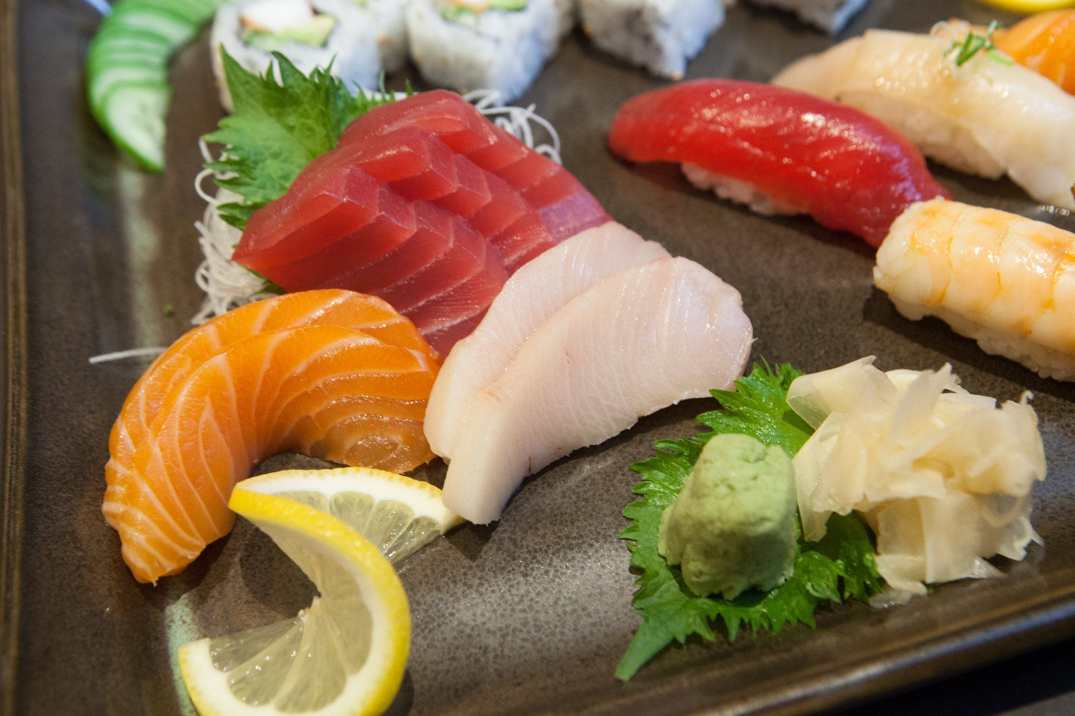 Fresh sushi, served daily at Stetsons Modern Steak + Sushi