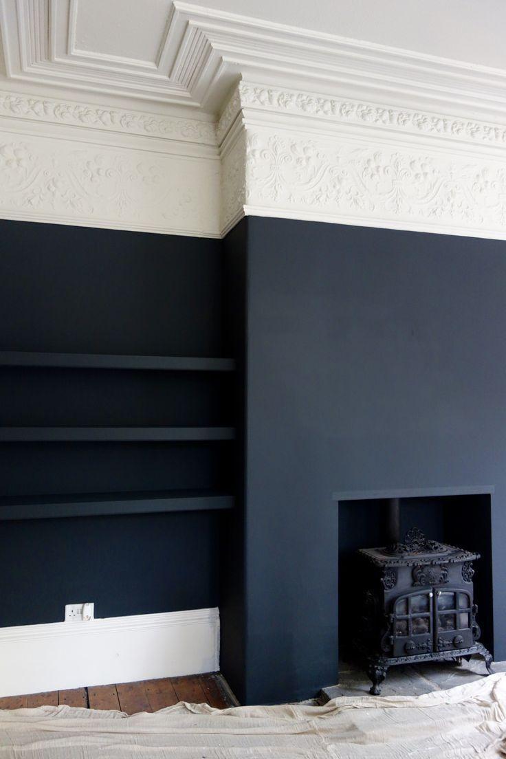 Photo of Farrow & Ball Off Black und Shadow White beim viktorianischen Villenprojekt – Haus Dekoration