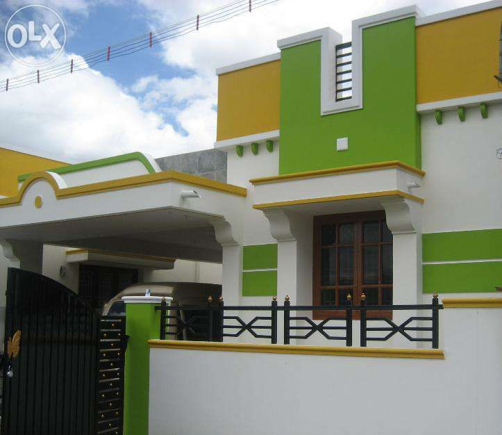 Coimbatore Independent House Small House Design House Front Design