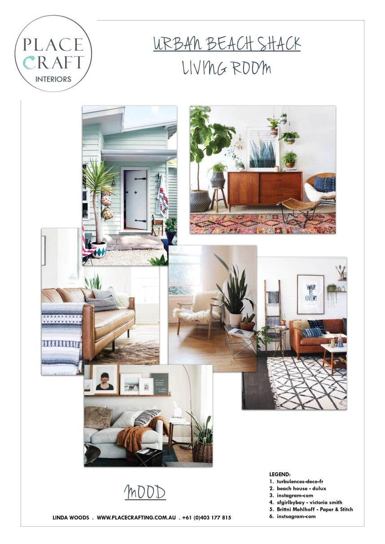 Urban Coastal Mood Board With Images Indoor Home Decor Board