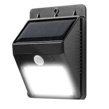 Elegant Solar Powered Motion Sensor Security Light   No Wiring Needed, Easy  Installations