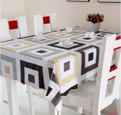 Diaidi Dining Table Set Gingham Kitchen Tablecloths Eu Standard Plastic Anti Skid Table Linen Tra Dining Table Cloth Dining Room Tablecloth Ikea Dining Room