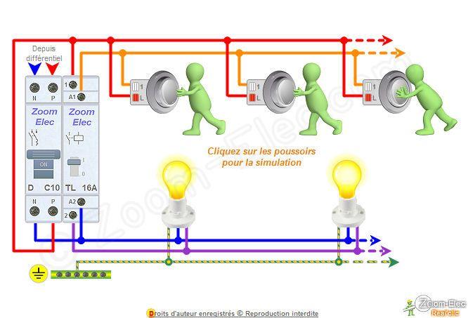 Resultat De Recherche D Images Pour Schema Electrique Simple