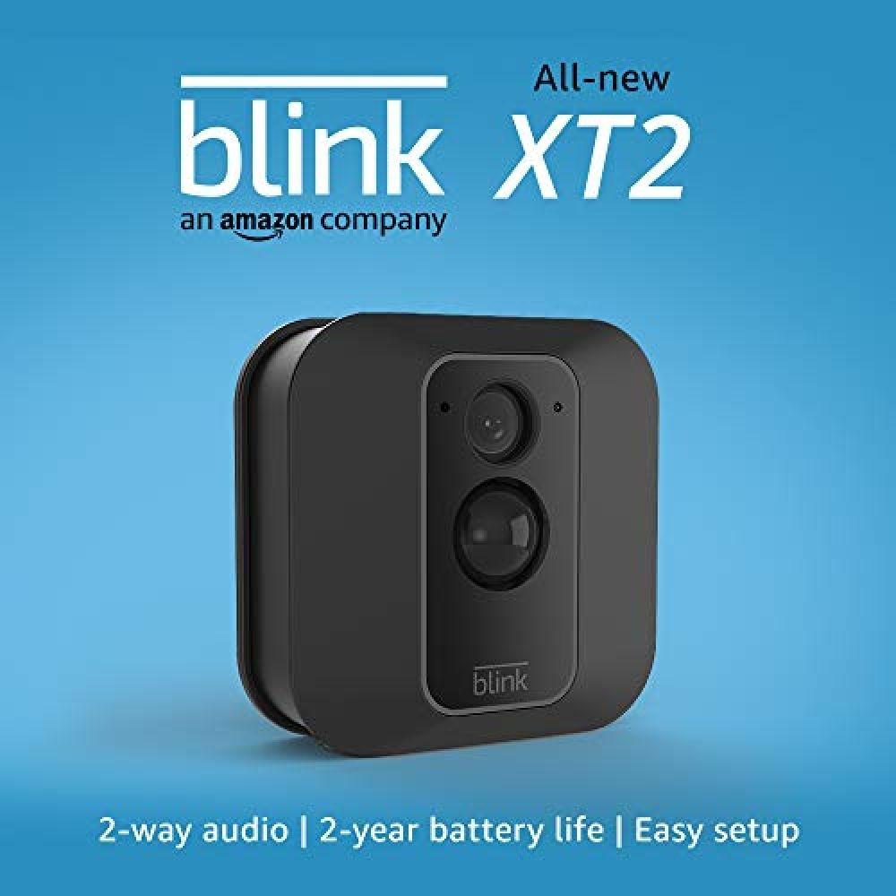 All-new Blink XT2 Outdoor/Indoor Smart Security Camera with