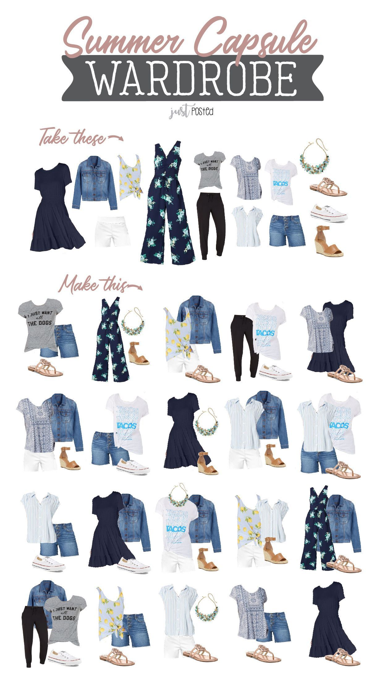 Summer Capsule Wardrobe with Macy's | Perfect capsule