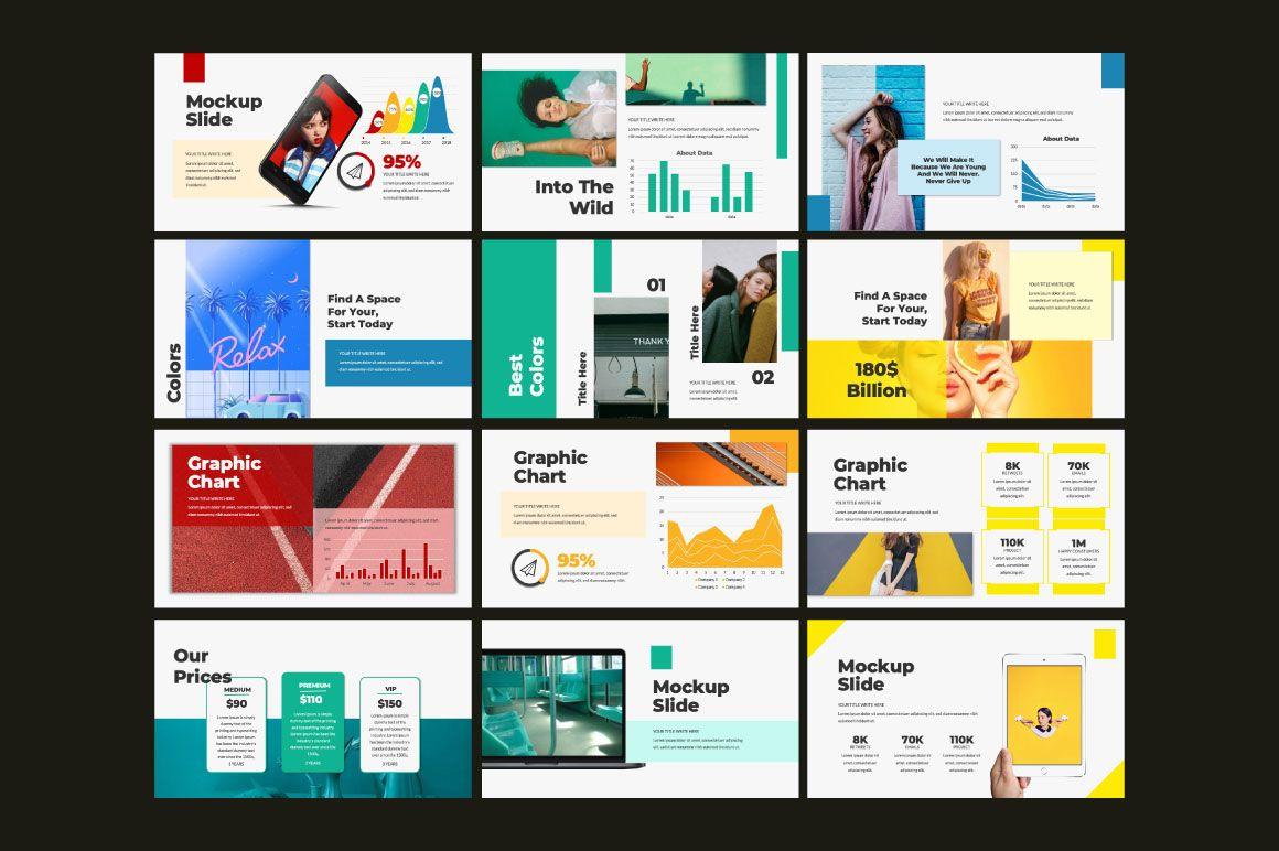 Colors Powerpoint 152138 Presentation Templates Design Bundles Presentation Templates Keynote Template Powerpoint