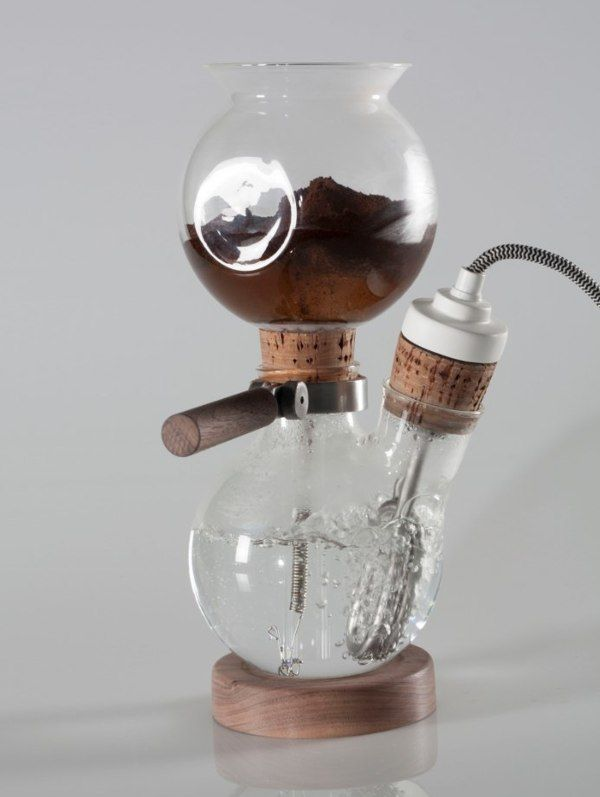 Glass Coffee Makers café balão - the glass coffee makerdavide mateus, via behance