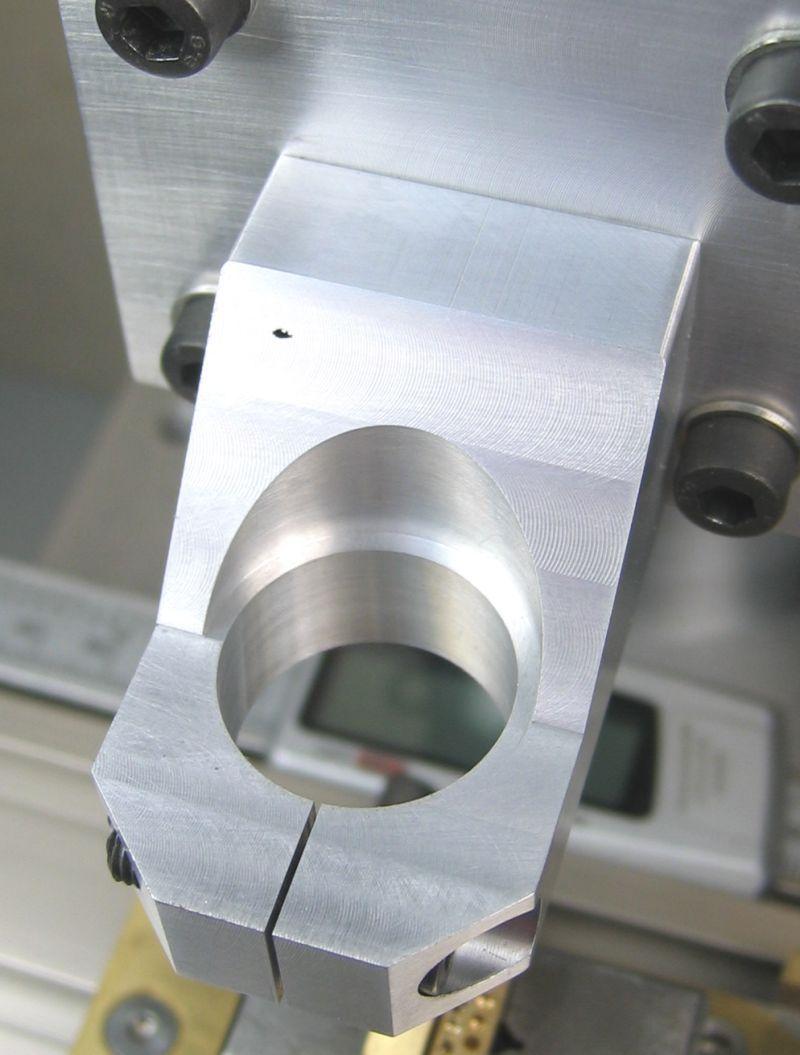 Eine Kleinfräsmaschine Oder Zerspanung Auf Dem Desktop Fräsen Desktop Fräsmaschine